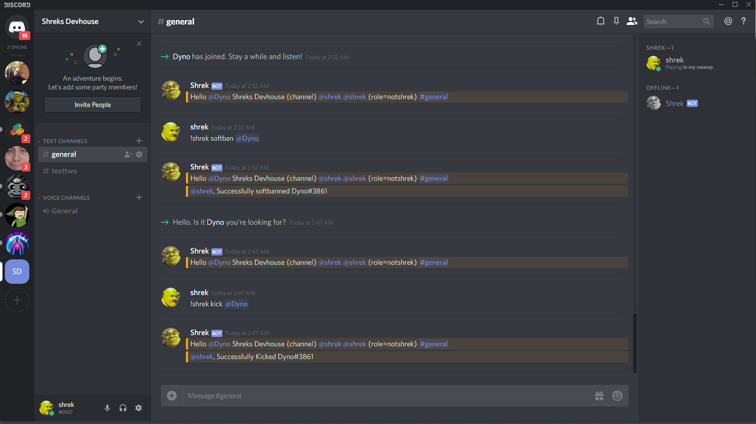 Free Discord bot maker and hosting - BotGhost